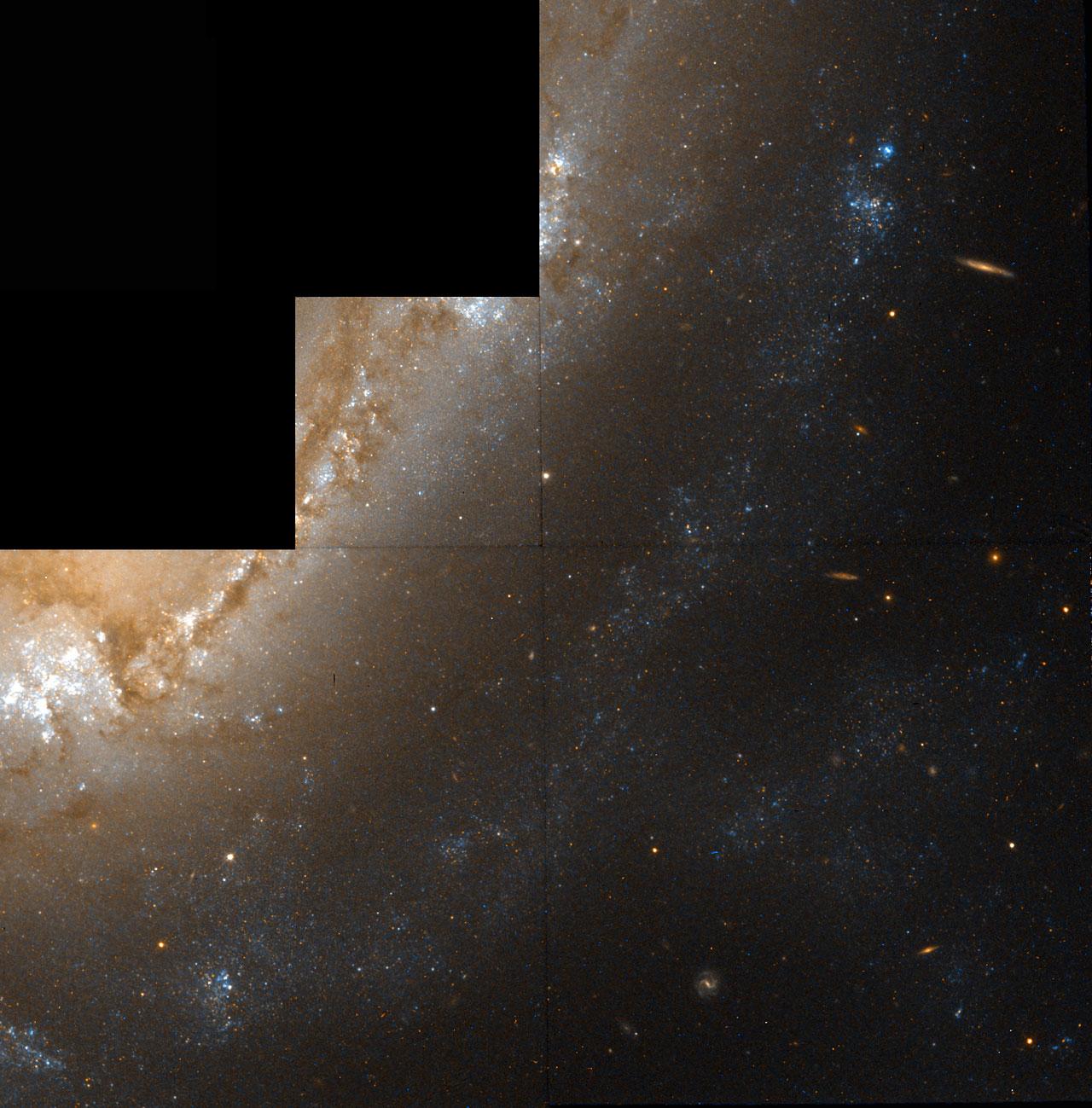 Galaxy NGC 1365