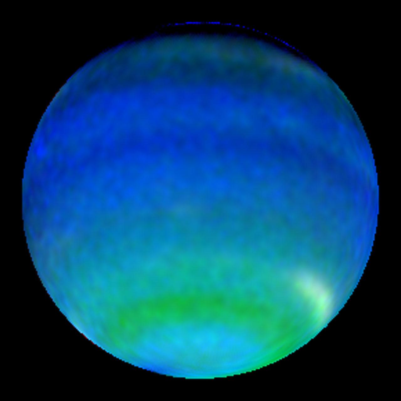 Neptune in Primary Colours | ESA/Hubble