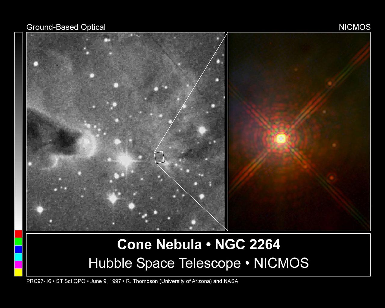 cone nebula hubbell telescope - photo #2