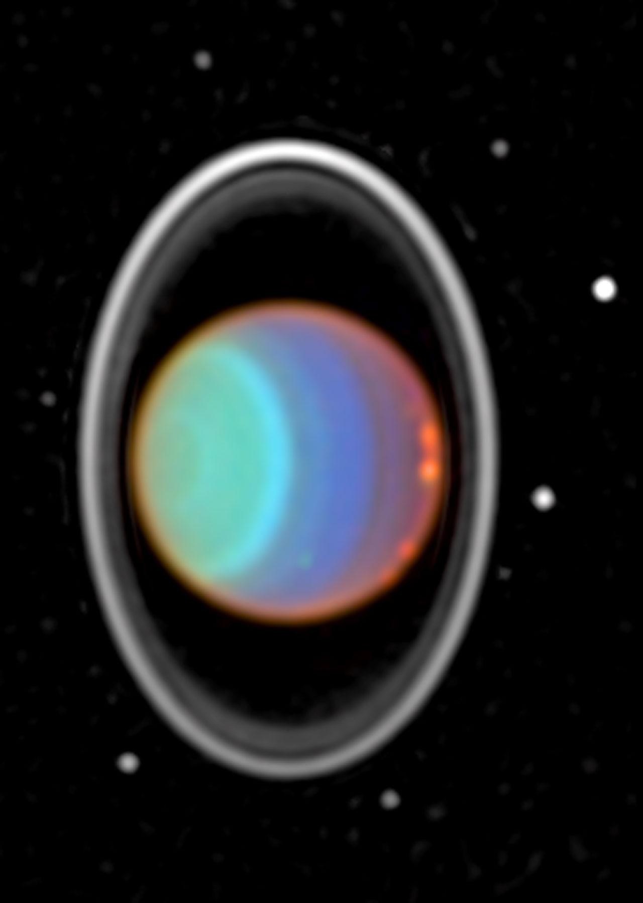 Hubble Tracks Clouds on Uranus   ESA/Hubble