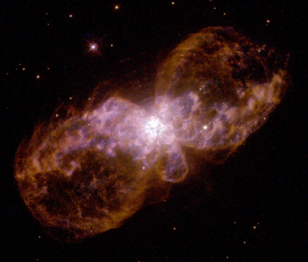 Hubble's planetary nebula gallery. A view of Hubble 5 ...