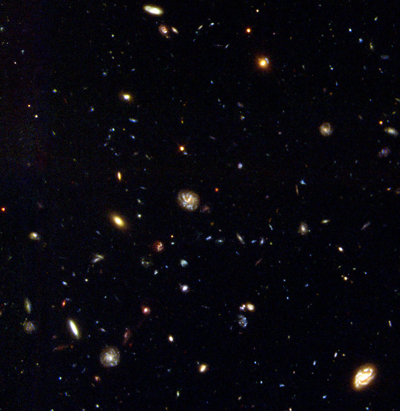 Hubble Deep Field South Unveils Myriad Galaxies | ESA/Hubble
