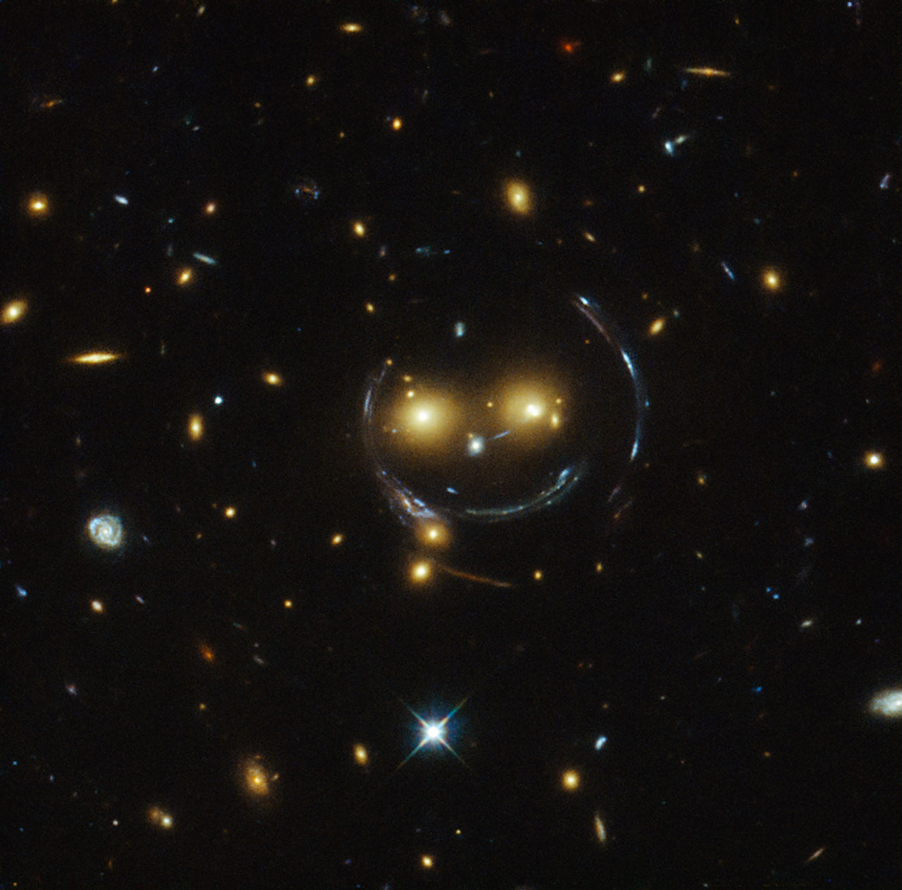 Real pictures from hubble telescope