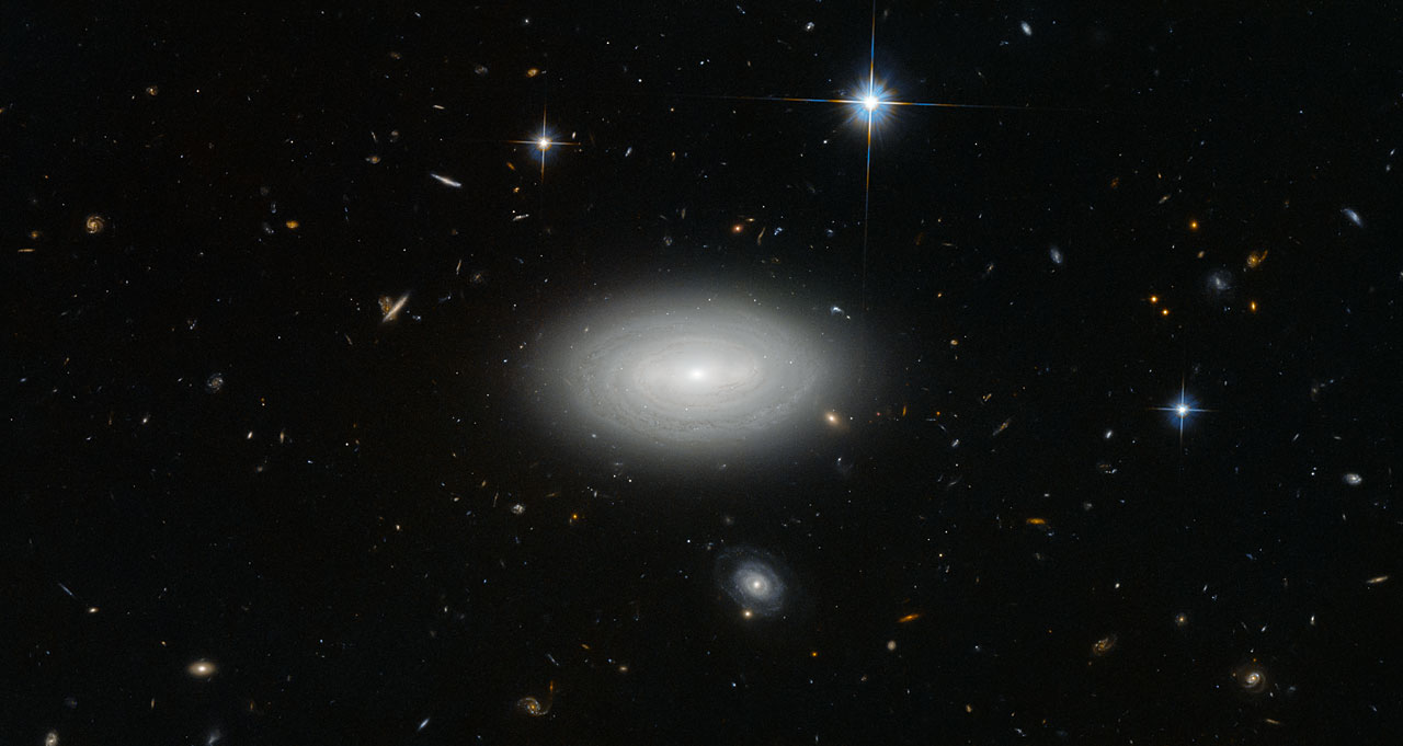 The Loneliest Of Galaxies Esa Hubble