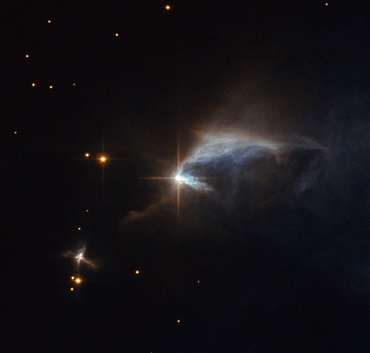 A diamond in the dust | ESA/Hubble