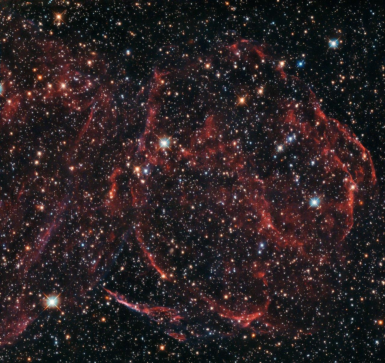 A long-dead star
