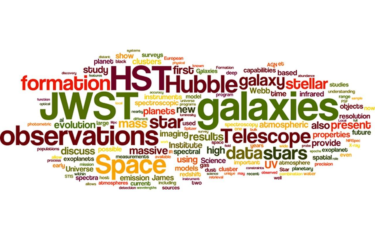 Hubble wordle | ESA/Hubble