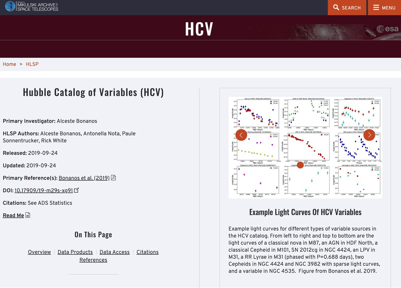 Screenshot of the HCV Explorer tool