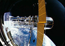 Deployment of the Hubble Space Telescope