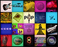 Highlights of entries to the Hubble Pop Culture competition