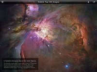 The ESA/Hubble Top 100 Images iPad App Screenshot