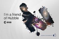 ESA/Hubble reaches 100 000 Facebook friends