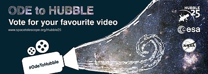 Vote for your favourite Ode to Hubble video