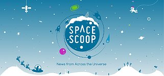 Banner of the new Space Scoop webpage