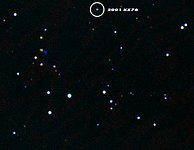 2001 KX76 - the record-breaking asteroid observed with Astrovirtel