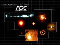 Celebrating the successes of ESA's sharp-sighted camera, the Faint Object Camera
