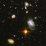 Hubble reveals galactic drama [image 5]