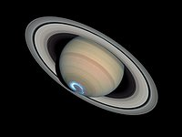Saturn's dynamic aurorae 1 (Jan 28, 2004)