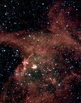 N 63A: Spitzer Space Telescope