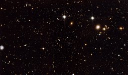 The Spiderweb Galaxy and its surroundings [full ACS view]