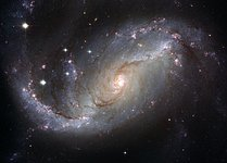 Stellar Nursery in the arms of NGC 1672