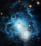 Youthful-looking galaxy may be an adult