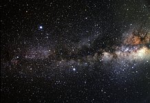 Wide-field view of the Summer Triangle (ground-based image)