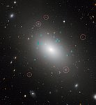 Annotated Hubble image of NGC 1132