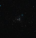 Wide-field view of the Coma Galaxy Cluster (DSS2 excerpt, ground-based image)