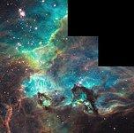 NGC 2074 imaged by Hubble on 100 000th orbit milestone