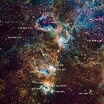 Ground-based image of NGC 2074