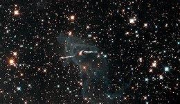 WFC3 infrared image of Carina Nebula