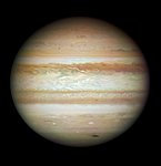 Collision leaves giant Jupiter bruised