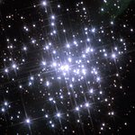 The core of the massive compact star cluster in NGC 3603