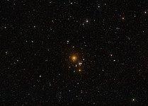 The area around NGC 3314 (ground-based view)