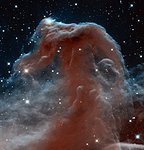 New infrared view of the Horsehead Nebula — Hubble's 23rd anniversary image
