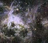 New Hubble infrared view of the Tarantula Nebula