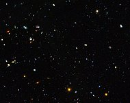 GOODS field containing distant dwarf galaxies forming stars at an incredible rate