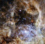 R136 observed with WFC3