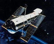 Artist rendition of Hubble
