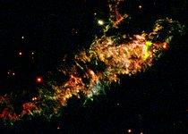 Details of Supernova Remnant Cassiopeia A