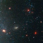 Details from ACS Image of NGC 3370: Edge of Galaxy (Region 2)