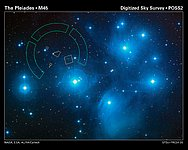 Hubble Refines Distance to the Pleiades Star Cluster
