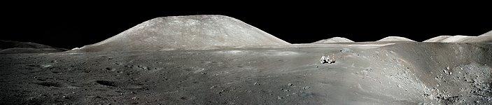 An Astronaut's Snapshot of the Moon