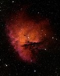 Ground-Based Image of the Star-Forming Region NGC 281