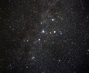 Image of the Constellation Cassiopeia (ground-based image)