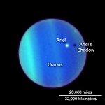Uranus as Viewed from Earth - 1994, 1997, 2006