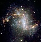 Barred Spiral Galaxy NGC 1313 - VLT