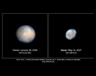 Hubble Images of Asteroids Help Astronomers Prepare for Spacecraft Visit
