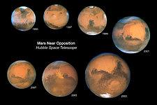 Mars Oppositions 1995-2007